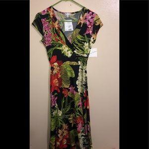Long Maxi Floral Dress
